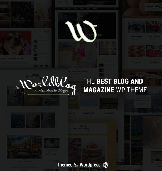 Worldblog - WordPress Blog and Magazine Theme - 1